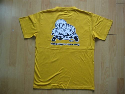 オリジナル Tシャツ 背面